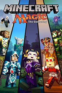 Carátula del juego Minecraft Magic: The Gathering Skin Pack de Xbox One