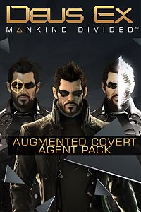 Carátula del juego Deus Ex: Mankind Divided - Augmented Covert Agent Pack de Xbox One