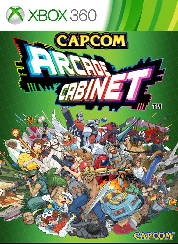 CAPCOM ARCADE CABINET boxshot