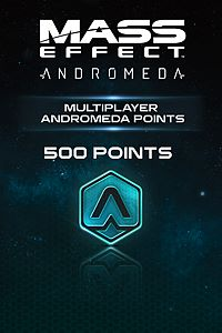 Carátula del juego 500 Mass Effect: Andromeda Points de Xbox One