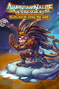 Carátula del juego Sun Wukong Skree - Awesomenauts Assemble! Skin de Xbox One