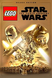 Carátula del juego LEGO Star Wars: The Force Awakens Deluxe Edition de Xbox One