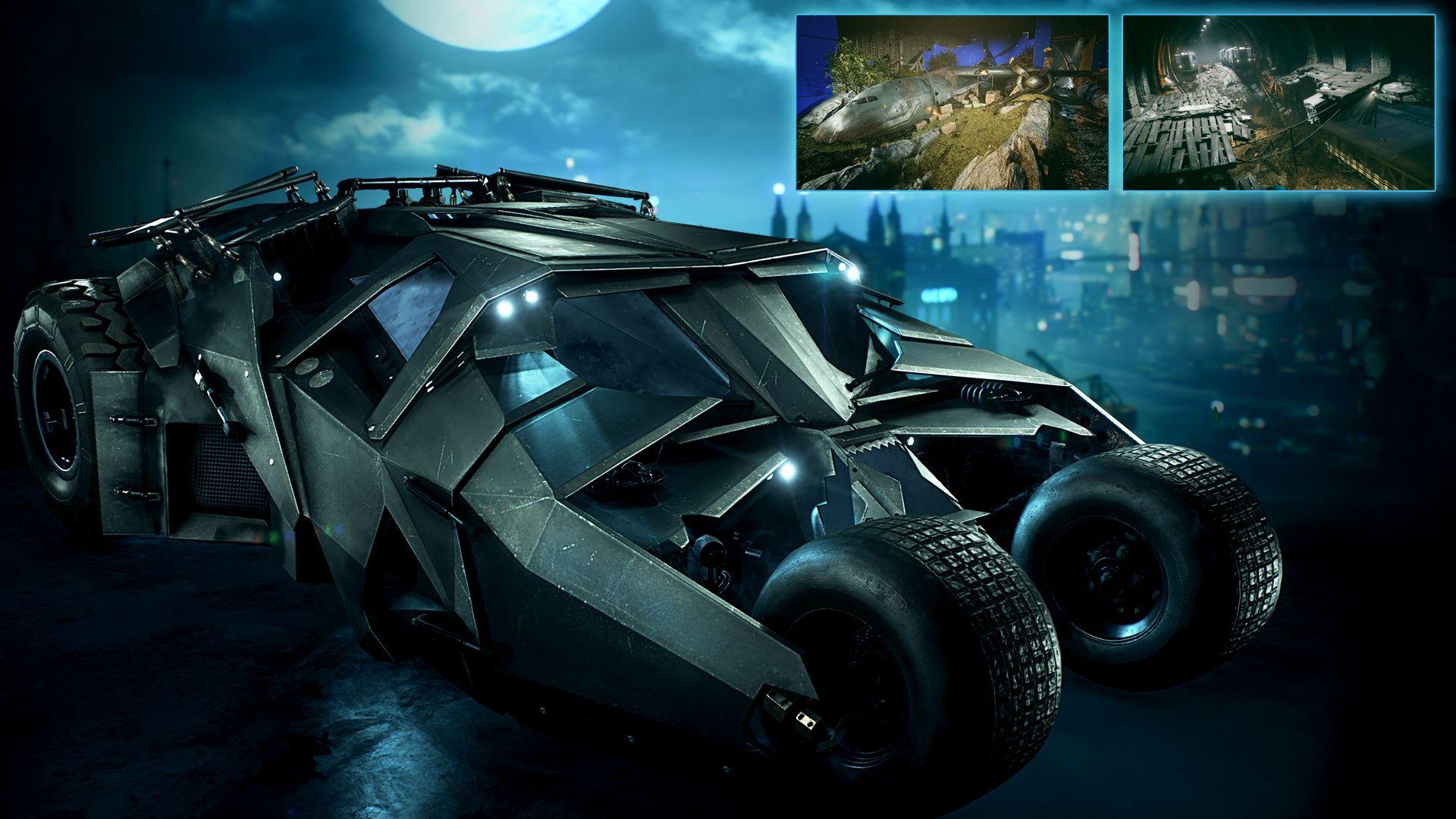 Pakke med Tumbler-batmobilen fra 2008