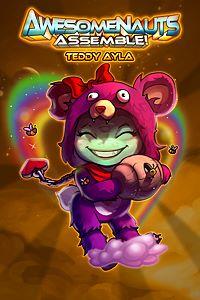 Carátula del juego Teddy Ayla - Awesomenauts Assemble! Skin de Xbox One