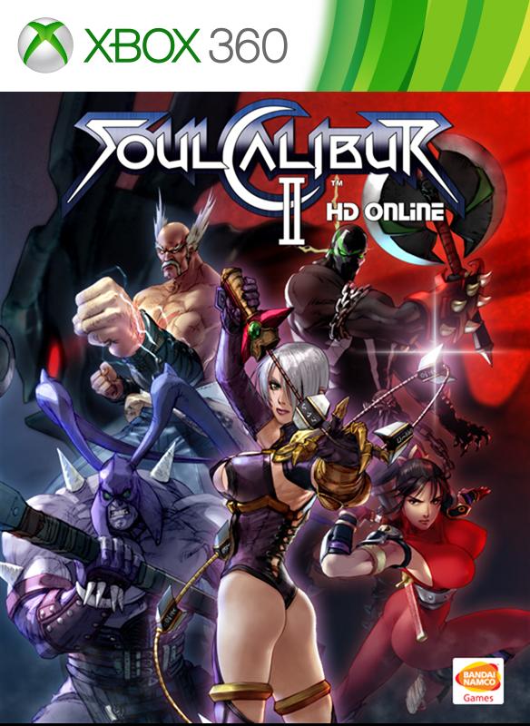 SOULCALIBUR II HD boxshot