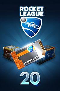 Carátula del juego Rocket League – Crate Unlock Key x20 de Xbox One