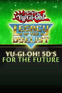 Carátula del juego Yu-Gi-Oh! 5D's For the Future de Xbox One