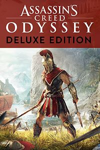 Carátula para el juego Assassin's Creed Odyssey - DELUXE EDITION de Xbox One