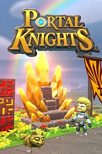 Carátula del juego Portal Knights - Gold Throne Pack