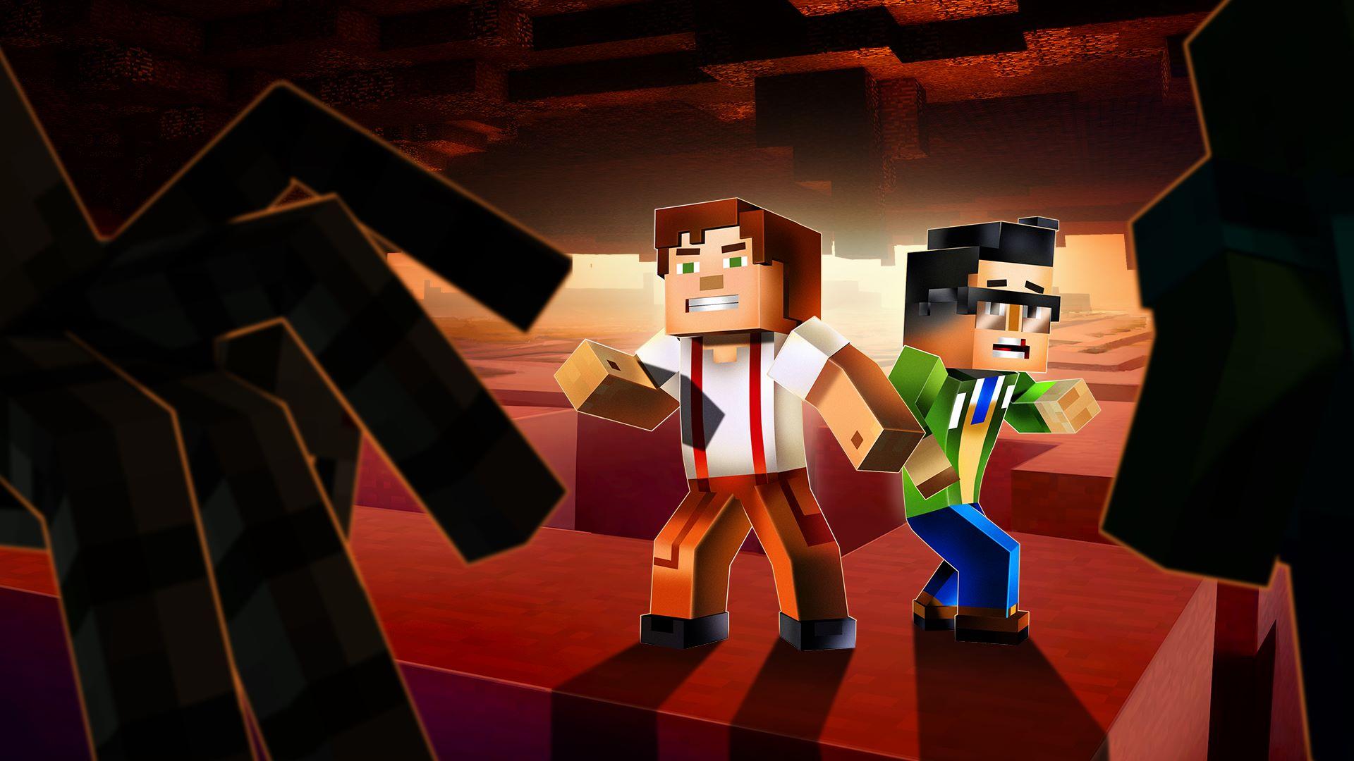 Minecraft Story Mode Season Two Episode Kaufen Microsoft - Minecraft gefangnis spiele
