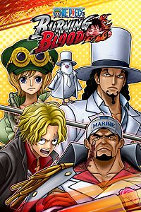 Carátula del juego ONE PIECE BURNING BLOOD - GOLD Movie Pack 2