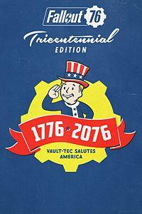 Carátula para el juego Fallout 76 Tricentennial Edition Preorder de Xbox One