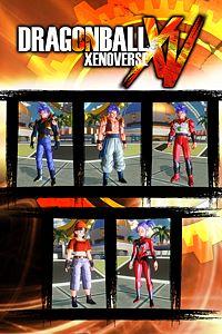 Carátula del juego Dragon Ball Xenoverse GT PACK 2