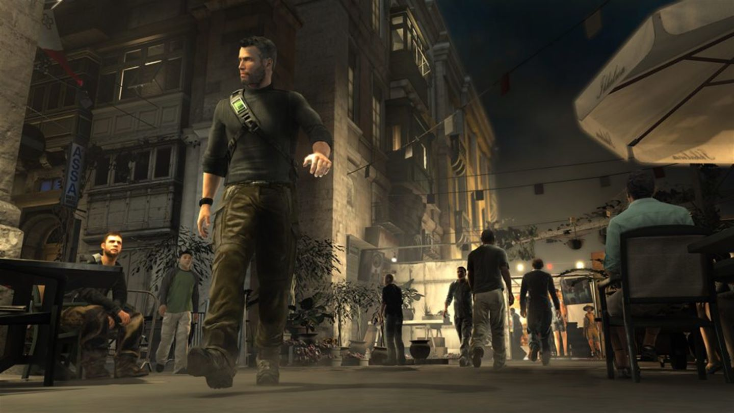 Splinter Cell: Conviction Xbox One Screenshot