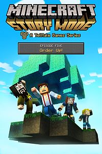 Carátula del juego Minecraft: Story Mode - Episode 5: Order Up! de Xbox One