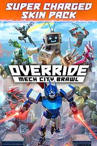 Carátula del juego Override: Mech City Brawl - Super Charged Skin Pack