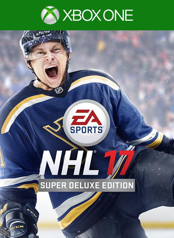 NHL 17 Super Deluxe boxshot
