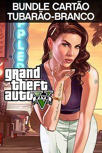 Grand Theft Auto V & Pacote de dinheiro Tubarão-Branco
