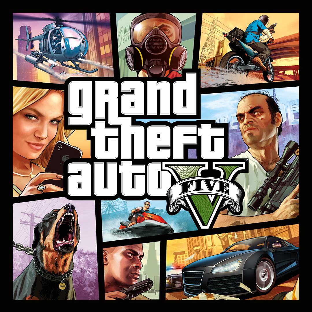 Grand Theft Auto V & Great White Shark-cashcard