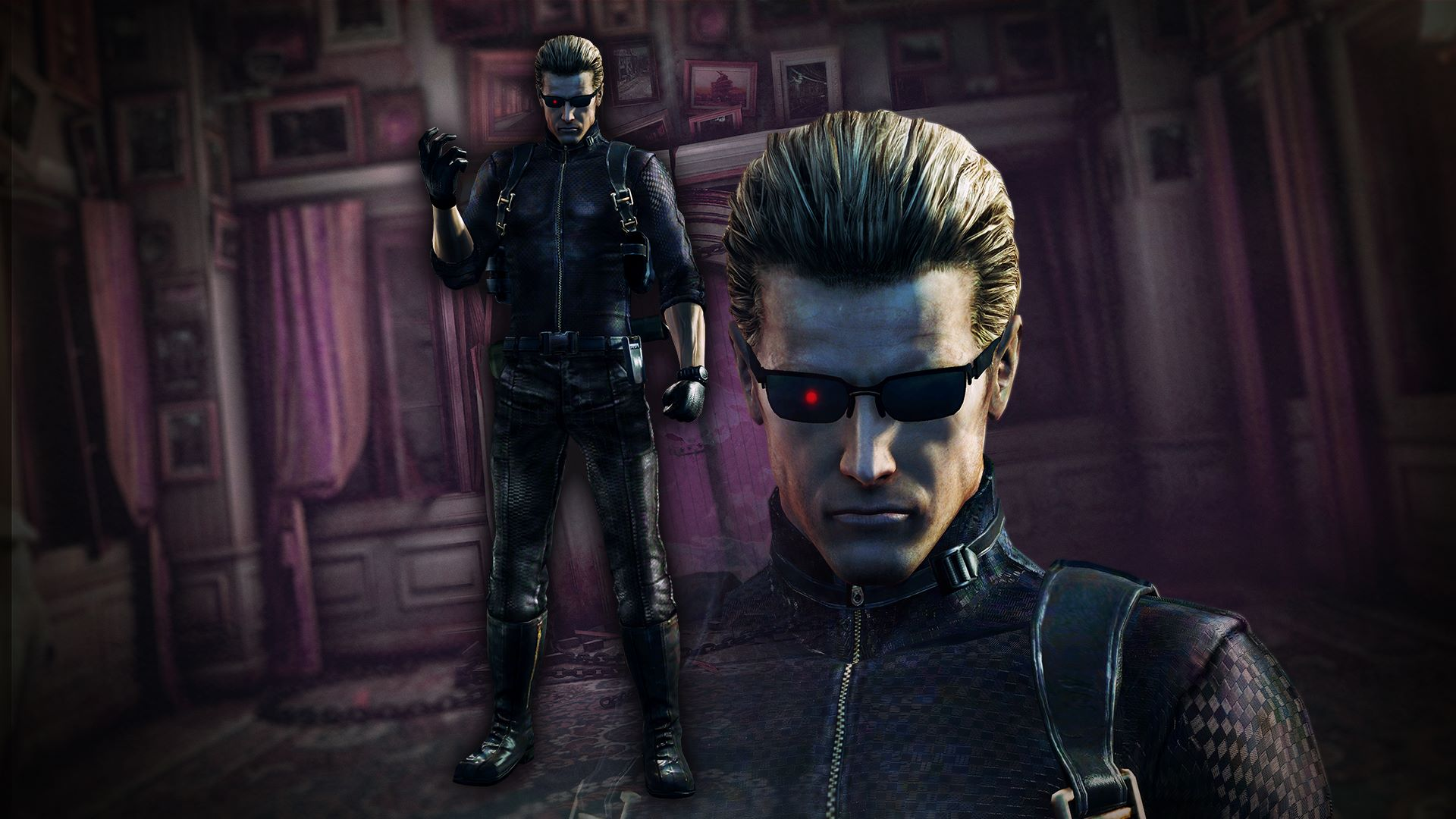 resient evil wesker - photo #24