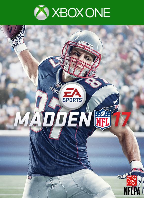 Madden NFL 17 boxshot