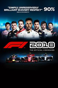 Carátula para el juego F1 2018 de Xbox 360