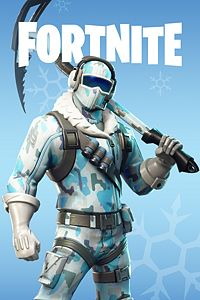 Carátula para el juego Fortnite Battle Royale - Deep Freeze Bundle de Xbox 360