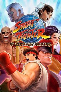 Carátula para el juego Street Fighter 30th Anniversary Collection de Xbox One