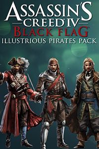 Carátula del juego Assassin's Creed IV Black Flag Illustrious Pirates Pack