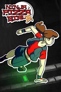 Carátula del juego Ninja Pizza Girl para Xbox One