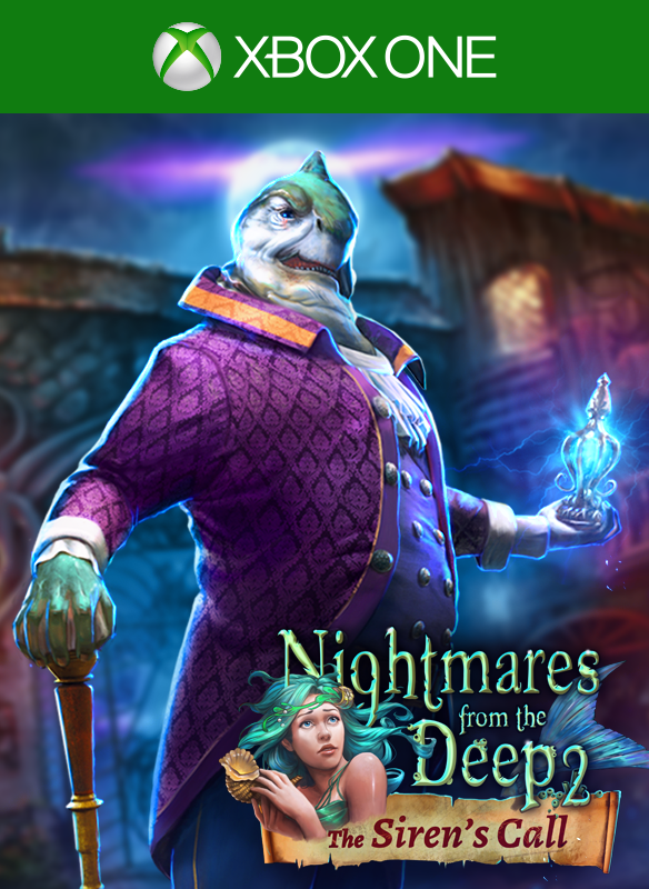Nightmares from the Deep 2: The Siren's Call boxshot
