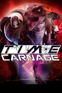 Carátula del juego Time Carnage para Xbox One