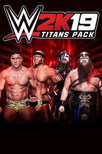 Carátula del juego WWE 2K19 Titans Pack