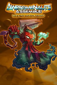 Carátula del juego Wraithlord Scoop - Awesomenauts Assemble! Skin de Xbox One