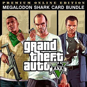 f851ea3e1 Grand Theft Auto V  Premium Online Edition   Megalodon Shark Card Bundle
