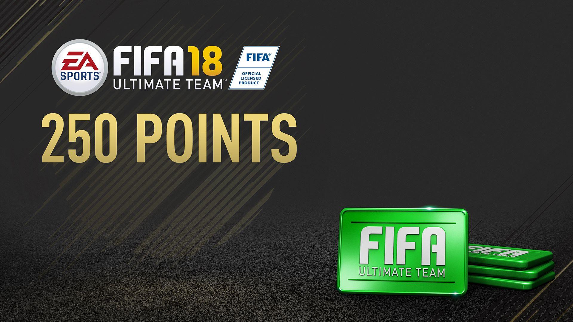 Pakke med 250 FIFA 18-point