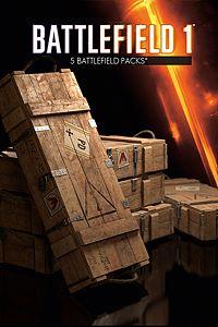 Carátula del juego Battlefield 1 Battlepacks x 5