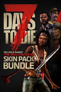 Carátula del juego 7 Days to Die - The Walking Dead Skin Pack Bundle de Xbox One