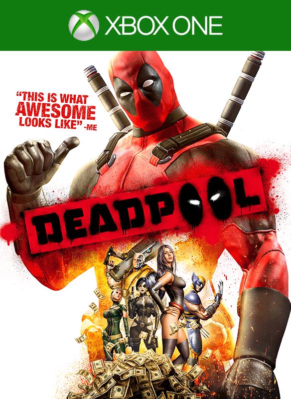 Deadpool boxshot