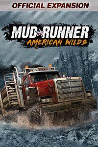 Carátula para el juego MudRunner - American Wilds Expansion de Xbox 360