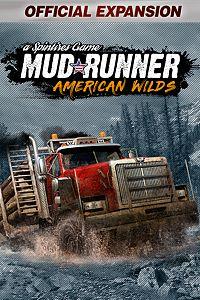 Carátula para el juego Spintires: MudRunner - American Wilds Expansion de Xbox 360