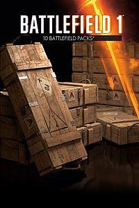 Carátula del juego Battlefield 1 Battlepacks x 10