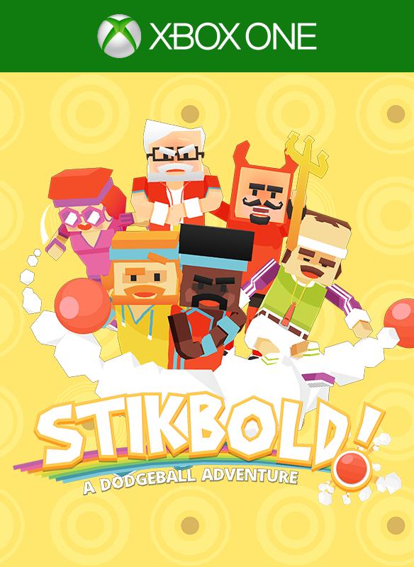 Stikbold! A Dodgeball Adventure boxshot