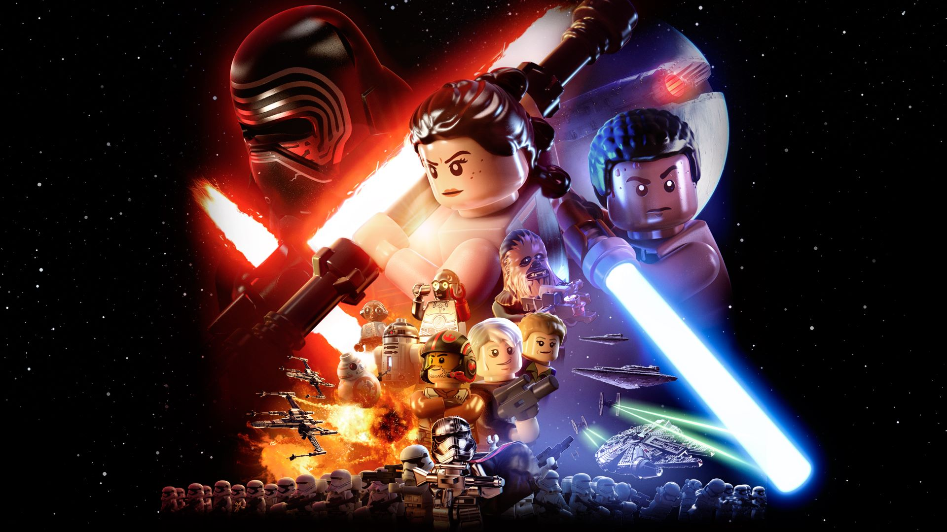 Lego star wars the force awakens - Lego star wars 1 2 3 4 5 6 ...