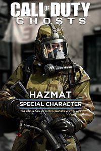 Call of Duty: Ghosts - Personaje especial Hazmat