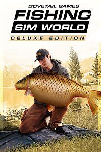 Carátula del juego Fishing Sim World Deluxe Edition