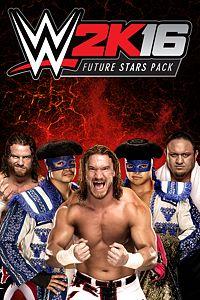 Carátula del juego WWE 2K16 Future Stars Pack de Xbox One