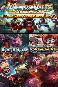 Carátula del juego Ultimate Overdrive Pack - Awesomenauts Assemble! Game Pack de Xbox One