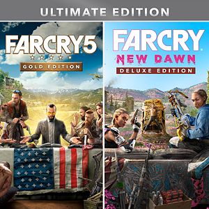 Far Cry® 5 Gold Edition + Far Cry ® New Dawn Deluxe Edition Bundle Xbox One