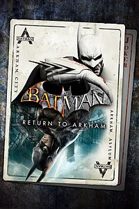 Carátula del juego Batman: Return to Arkham